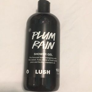 Plum Rain shower gel